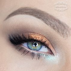 Lumi by @Sugarpill Cosmetics Cosmetics, Copper by Mehron and Brun e/s by MAC, @ardell_lashes accent lashes nr 318, @Illamasqua Ltd Ltd Vow nude pencil and @anastasiabeverlyhills Dipbrow Pomade in Blonde ✌️ - @Katarzyna C Gajewska- #webstagram