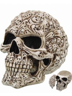 """Spirit"" Skull by Pacific Trading"