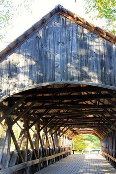 Old covered bridge, name not known.