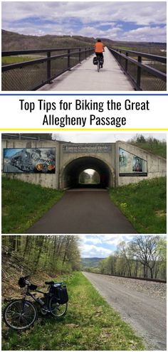 Thinking of biking the Great Allegheny Passage in southwestern Pennsylvania? Check out my top tips for riding the GAP trail based on my riding experiences. Vacation Places, Places To Travel, Cumberland Maryland, Continental Divide, Bicycle Maintenance, Bike Trails, Outdoor Camping, Travel Around, The Great Outdoors