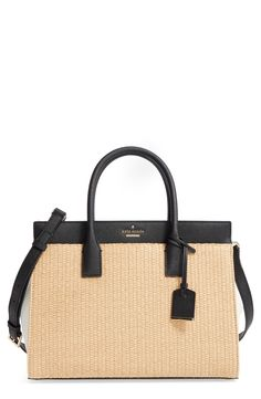 New kate spade new york cameron street - candace straw satchel fashion online. [$239.86]?@shop.seehandbags<<