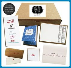 1970a3104253 Love Notes - Idea Chic Stationery Box Set - Wedding gifts for the couple (