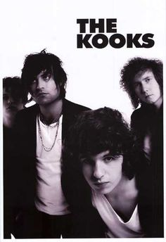 An awesome black and white band portrait poster of Luke Pritchard and The Kooks! Ships fast. 11x17 inches. Check out the rest of our sweet selection of The Kooks posters! Need Poster Mounts..?