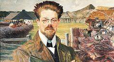 Portret Władysława Stanisława Reymonta (1905), pędzla Jacka Malczewskiego, PAPReprodukcja