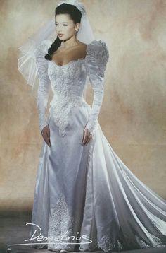 Vestido de novia 90