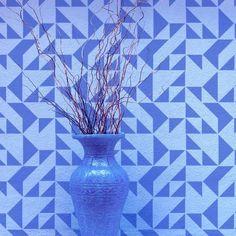 Geometric stencil patterns for contemporary decor, wall stencils and designs