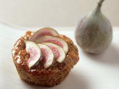 Rezept: Rotwein-Muffin mit Feigen