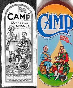 Good old camp coffee. There was a stall at the Royal Welsh Show selling cold Camp Coffee. Those were the days!