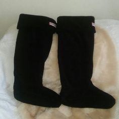 Hunter Boot Socks Used. Good Condition. Hunter Boots Other