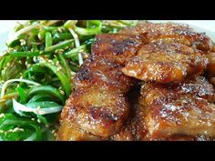 Diet Recipes, Recipies, Cooking Recipes, Korean Food, Chicken Wings, Asian Recipes, Pork, Deserts, Meat