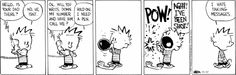 Calvin and Hobbes strip for November 17, 2014