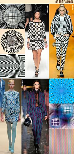 fashion op art