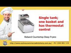 Roband Countertop Deep Fryers & Restaurant Equipment - http://healthcookingreview.com/roband-countertop-deep-fryers-restaurant-equipment/