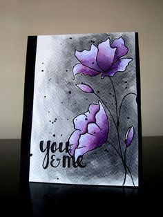 You & Me/Colorsplash by ashwini.rao.u - Cards and Paper Crafts at Splitcoaststampers