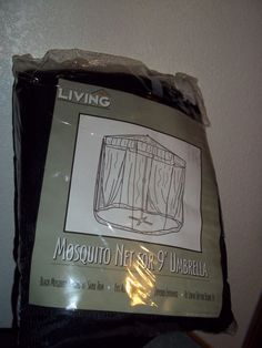 NEW Today's Living Mosquito Net for 9' Umbrella FREE SHIPPING