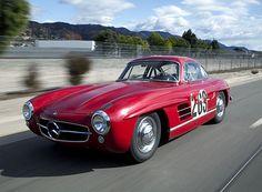 1955 Mercedes-Benz 300SL Gullwing Coupe.