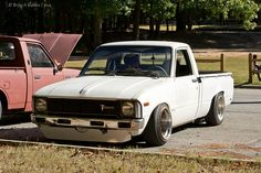 Squirrel Killer by metalmonkey47, via Flickr Toyota Trucks, Lifted Ford Trucks, Toyota Cars, Toyota Hilux, Chevrolet Trucks, Pickup Trucks, Drift Truck, Lowered Trucks, Toyota Fj Cruiser