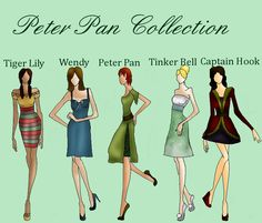 Peter Pan Collection by TheWhiteSwan