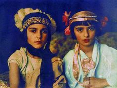 "Indira and Amrita 1924. ""Umrao Singh Sher-Gil (daughter = Amrita) was a Sanskrit and Persian scholar, fascinated by astronomy, loved carpentry and calligraphy, practised Yoga, and had an abiding passion for photography."