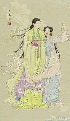Ancient China, Ancient Art, The Journey Of Flower, Oriental, Japanese Drawings, China Art, China China, Creative Pictures, Japan Art