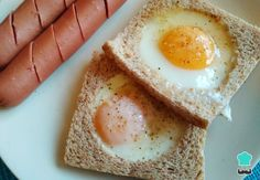 Aprende a preparar tostadas con huevo en el centro con esta rica y fácil receta. En esta receta paso a paso te enseñaremos a preparar el famoso pan con huevo de la...