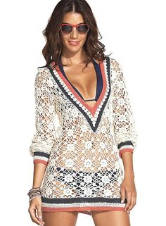 Crochet tunic PATTERN designer tunic PATTERN detailed | Etsy