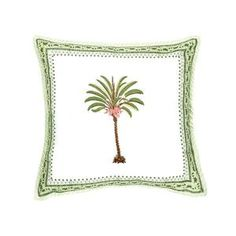 The perfect decoration to give your interior a tropical twist, our Handmade Cushion Palmtree is a soft cushion that adds a boho vibe to your home. Velvet Cushions, Cushions On Sofa, Palm Tree Drawing, Handmade Cushions, Living Room Sofa, Handmade Shop, Cushion Covers, Tropical, Quilts