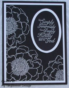 Blended Bloom, Stampin' Up! @ My Tanglewood Cottage
