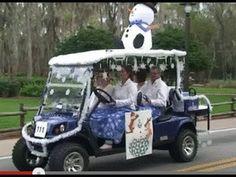 Fort Wilderness Holiday Golf Cart Parade 2012