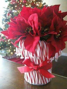 Use artificial candy canes