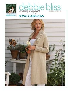 Debbie Bliss Magazine DBM4-3 LONG CARDIGAN
