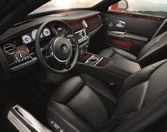 To be in the driving seat of Ghost Series II is to command.