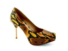 Snake Print Shoes, MINELLI