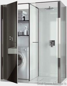 Laundry Shower Cabin Combo Vismaravetro
