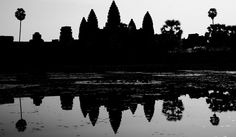 Today's scenic feature photo from SE Asia is of the magnificent Angkor Wat rendered as a silhouette during sunrise at the Temples of Angkor, Cambodia. Silhouette Photography, Art Photography, Battambang, Cambodia Travel, Phnom Penh, Famous Photographers, Angkor Wat, Art Direction, Travel Photos