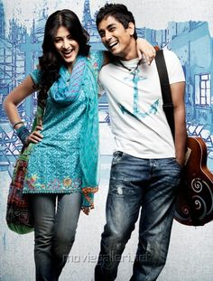 A picture of Shruthi Hassan and Siddharth from the movie, Sridhar. Their close friendship, which is often mistaken for an intimate romantic relationship, is depicted in this picture. Boy And Girl Drawing, Cute Couple Songs, Iron Man Drawing, Varun Tej, Friendship Images, Super Movie, New Movie Posters, Animated Love Images, Shruti Hassan