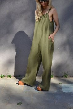 Handmade by elen'do. NEW COLORS Lazy Summer Outfits, Photography Poses Women, Playsuits, Jumpsuits For Women, Casual Wear, Beachwear, Overalls, Women Wear, Rompers