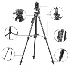 cf9a0d95294e Watch the Best YouTube Videos Online - Universal Foldable Aluminum  Bluetooth Tripod 43.80 and FREE Shipping