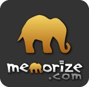 """MEMORIZE.COM - """"There's a lot to learn. Time is limited. Learning facts and terms is necessary but often boring and slow. Memorize.com pages have interactive  learning modes. They make facts clear and lucid. Create a page in seconds! Share or assign it. Earn badges while learning!"""""""