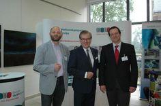 Tagesschausprecher Jan Hofer wirbt in Bad Kreuznach für die Darmkrebsvorsorge