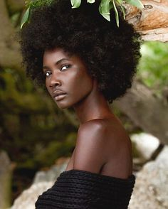 "naturalhairqueens: ""This natural African beauty! """