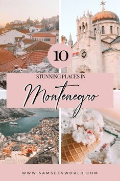 Top 10 most beautiful places in Montenegro. Explore these stunning places in Montenegro like Budva, Kotor, Blue Caves and more! There is so much beauty and magic to discover in this beautiful travel destination. #Travel #Montenegro #Europe Europe Destinations, Places In Europe, Europe Travel Guide, Travel Guides, Travelling Europe, European Vacation, European Travel, Ukraine, Montenegro Travel