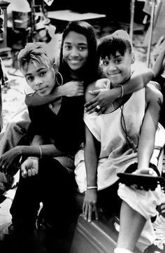 TLC : (L-R ) T-Boz, Chili, and Lisa Left-Eye Icons to the music industry with one amazing story .