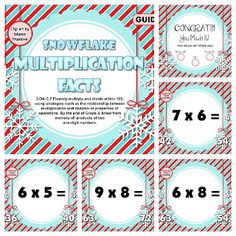 - Have fun with snowflakes and multiplication facts in this wintery game! This self-checking Smart Board game is based on the grade common core standard Smart Board Activities, Smart Board Lessons, Teaching Activities, Math Resources, Teaching Math, Teaching Ideas, Classroom Freebies, Math Classroom, Classroom Ideas