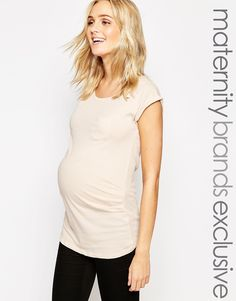 New Look Maternity Pocket T-shirt