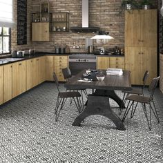 SomerTile 17.625x17.625-inch Tudor Charcoal Ceramic Floor and Wall Tile (Case of 5)