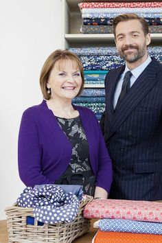 Meet the Judges! May Martin & Patrick Grant    The Great British Sewing Bee series two 2014 #sewing #craft #cloth-ears #sew #makedoandmend #bbc #GBSB