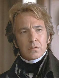 "1995 - Alan Rickman as Col. Christopher Brandon in ""Sense and Sensibility."""