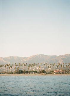 Santa Barbara at sunset photo: Jose Villa  for Rue