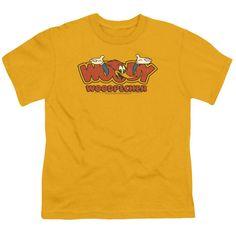 Woody Woodpecker - In Logo Short Sleeve Youth 18/1